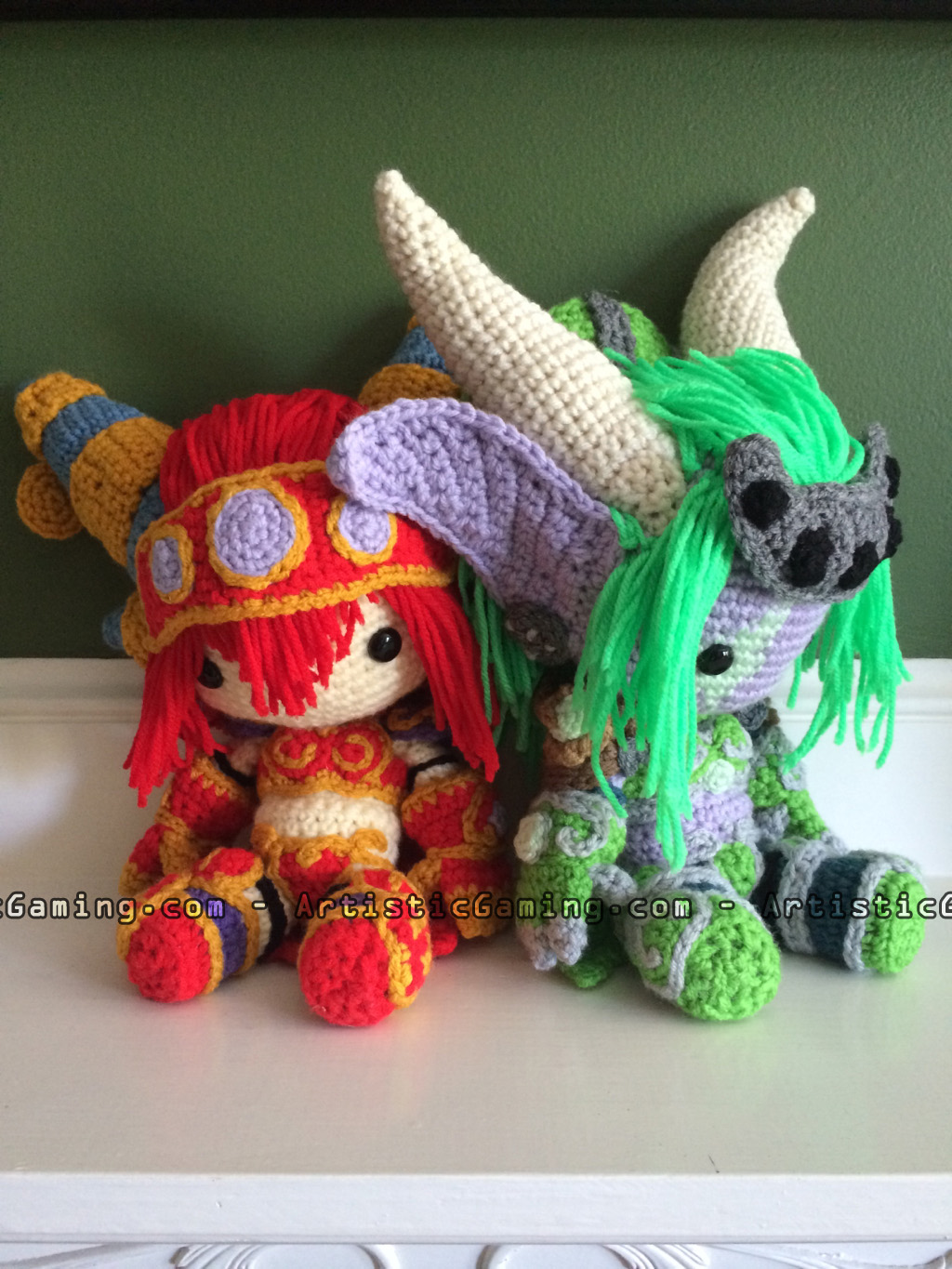 Alexstrasza and Ysera World of Warcraft