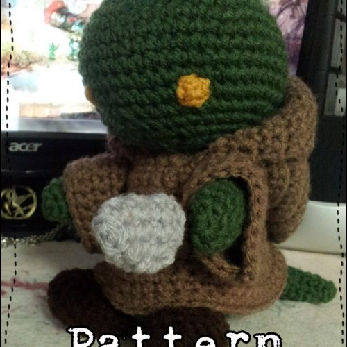 Tonberry Crochet Pattern