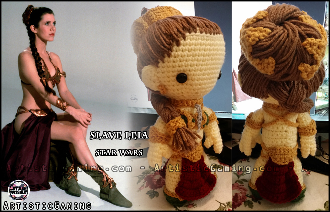 Amigurumi Star Wars Patterns : Slave leia star wars free* pattern u2022 artisticgaming