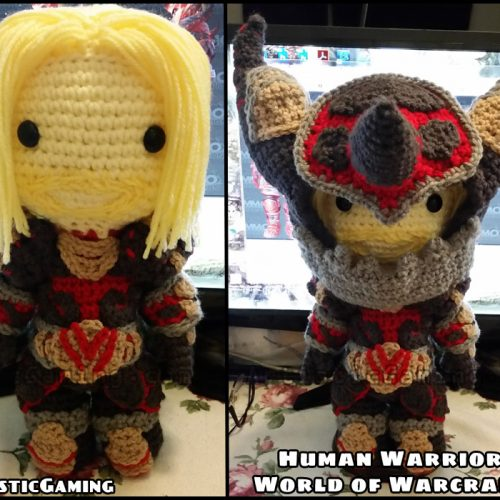 Human Warrior World of Warcraft