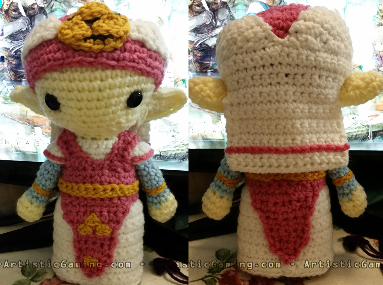 Amigurumi Zelda Pattern : Young zelda legend of zelda free crochet pattern u artisticgaming